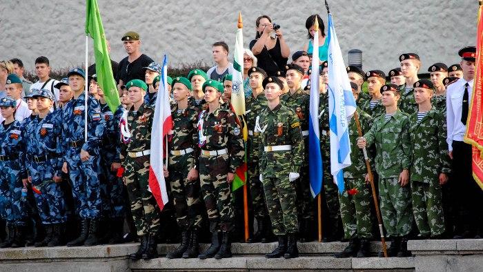 Волгоградцы стали лучшими ввоенно-патриотической игре «Победа»