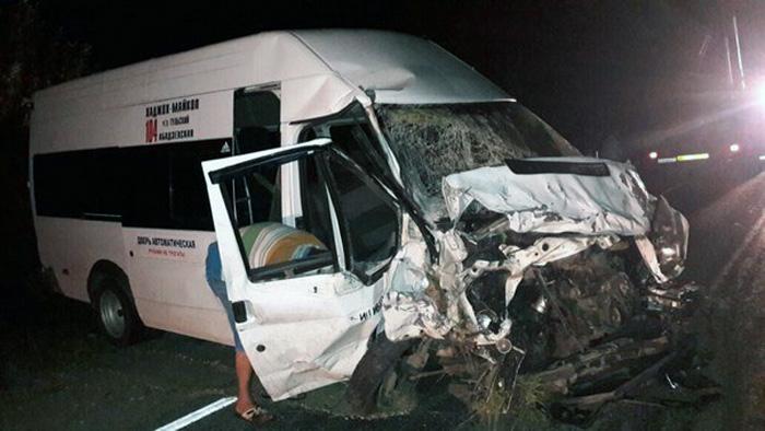 ВДТП смаршруткой вАдыгее погибли три человека