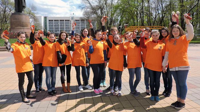 В РФ в12-й раз пройдет акция «Георгиевская ленточка»